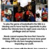 Dwight Howard Thanks Fans in Newspaper Ad